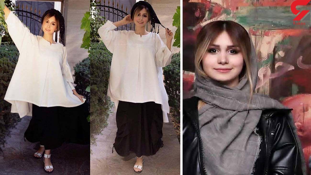 سپیده بزمی پور همسر شاهرخ استخری مدلینگ شد + عکس