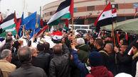 تظاهرات گسترده در سوریه علیه حضور نظامیان آمریکا
