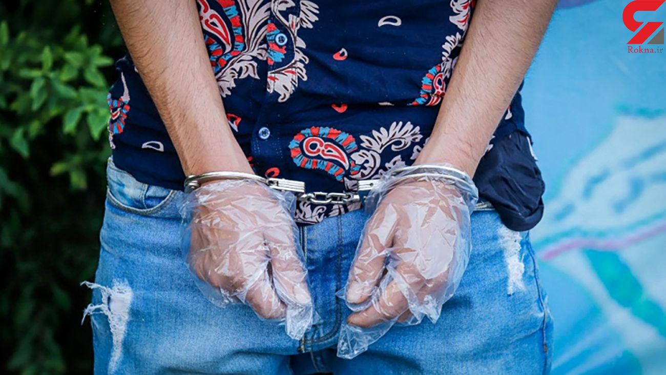 دستگیری عامل شرارت در عنبرآباد