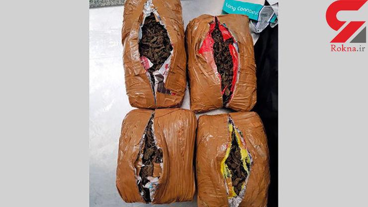 کشف و ضبط 30 کیلوگرم مواد مخدر در شارجه