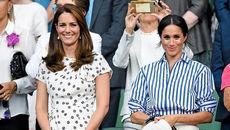 عروسهای خانواده سلطنتی انگلیس تماشاگر فینال تنیس ویمبلدون هستند