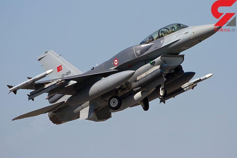 بمباران مناطقی از کردستان عراق توسط ترکیه