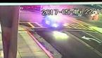 تصادف ماشین پلیس هنگام تعقیب و گریز + فیلم