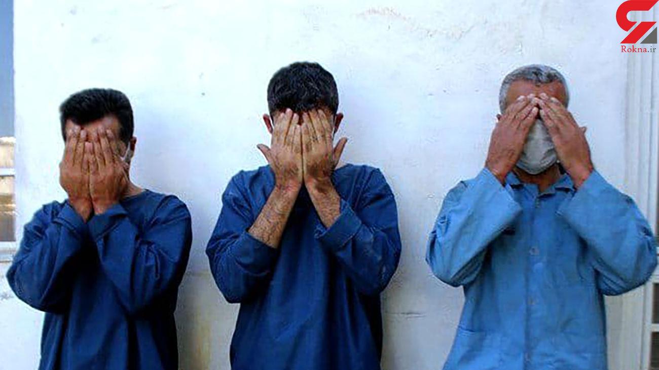 دستگیری اعضای باند سارقان خانوادگی در کرج