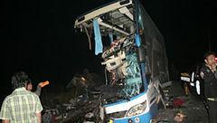 ۱۸ کشته و دهها زخمی بر اثر حادثه رانندگی در تایلند