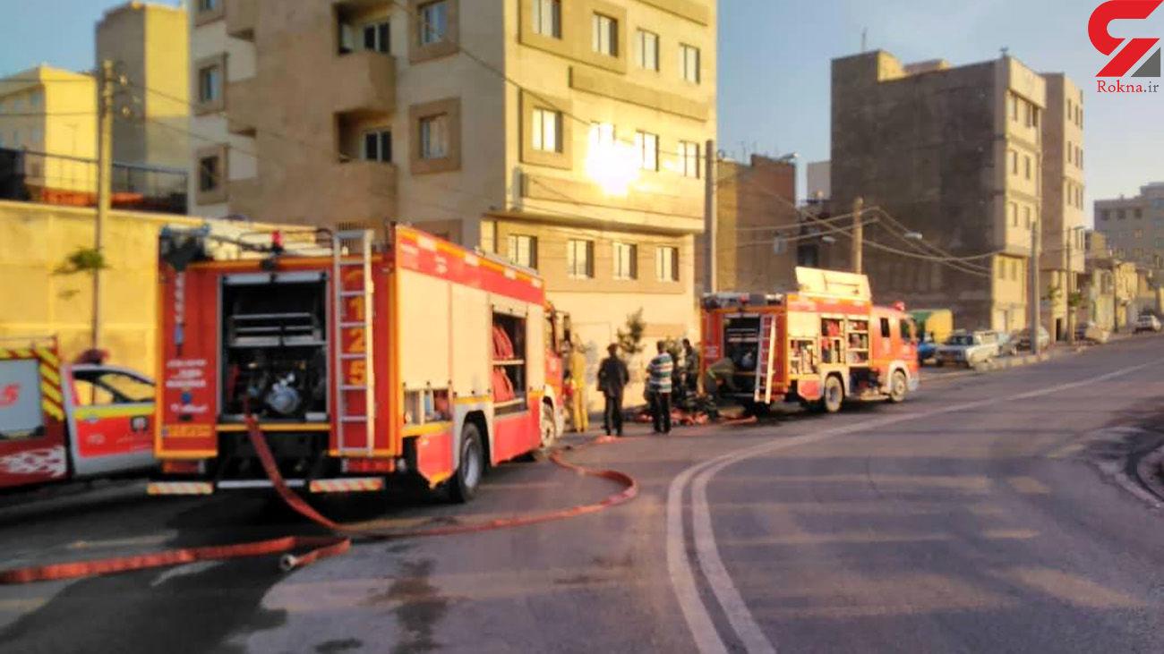 زنده زنده سوختن 2 مرد در میان شعله های آتش در شوش غربی + عکس های وحشتناک