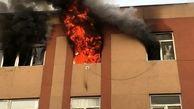 آتشسوزی در یک واحد مسکن مهر سمنان/ سقوط یک زن از طبقه چهارم