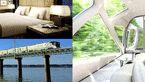 هتل پنج ستاره ای که روی چرخ های قطار است! +تصاویر