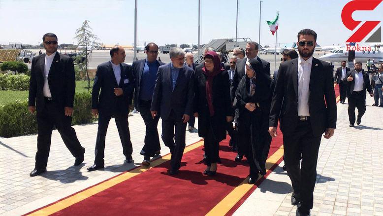 رییس مجلس صربستان وارد تهران شد