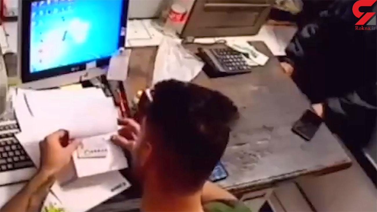 دزد کر و لال مثل بلبل حرف زد / در تبریز رخ داد + فیلم صحنه سرقت