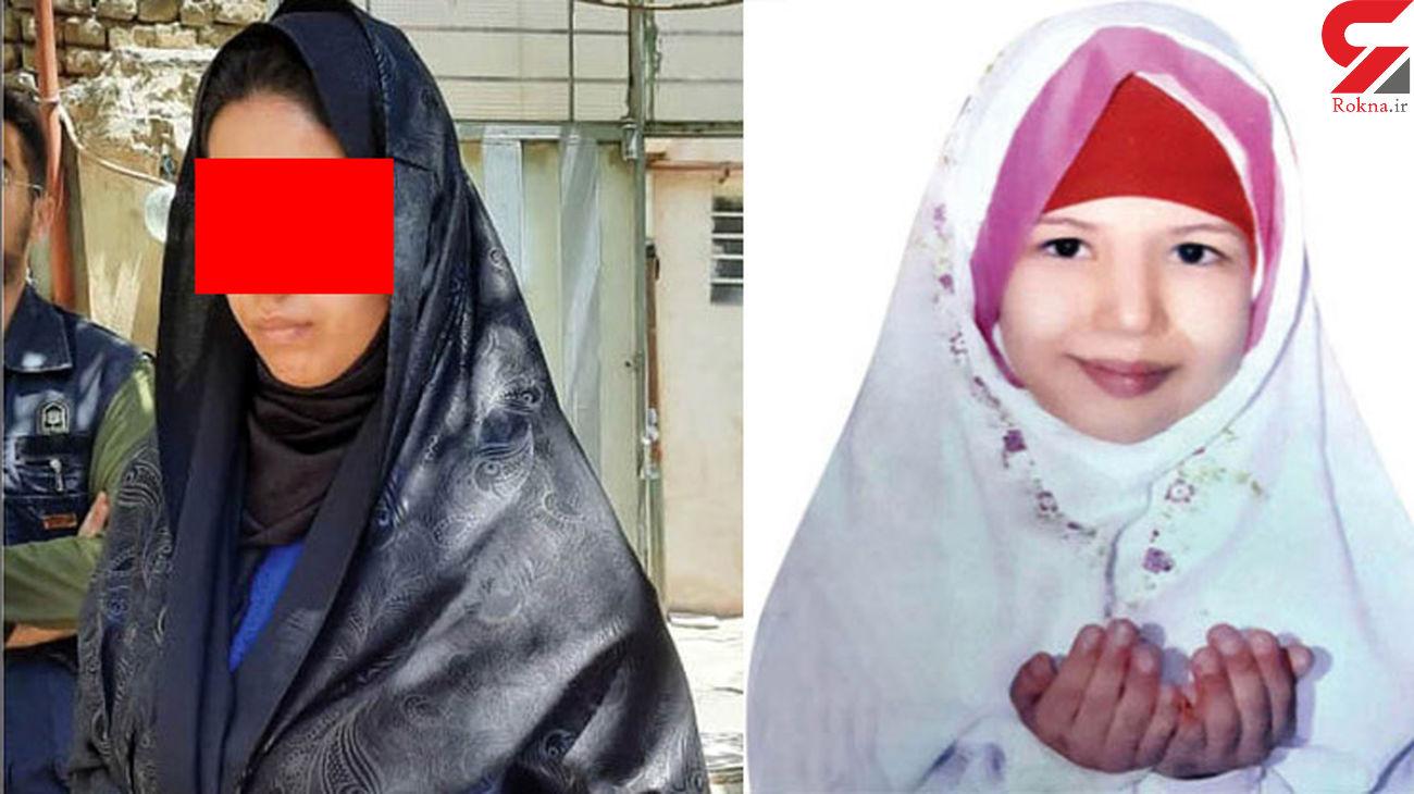 گفتگو با منیره نامادری قاتل / عسل 10 ساله بی صدا شکنجه می شد + عکس