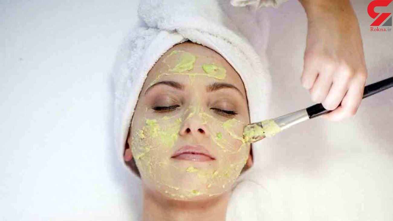 شفاف سازی پوست با ماسک آرد نخودچی