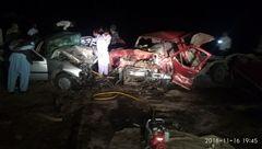 تصادف زنجیرهای در ریگان با ۱۰ کشته ومجروح