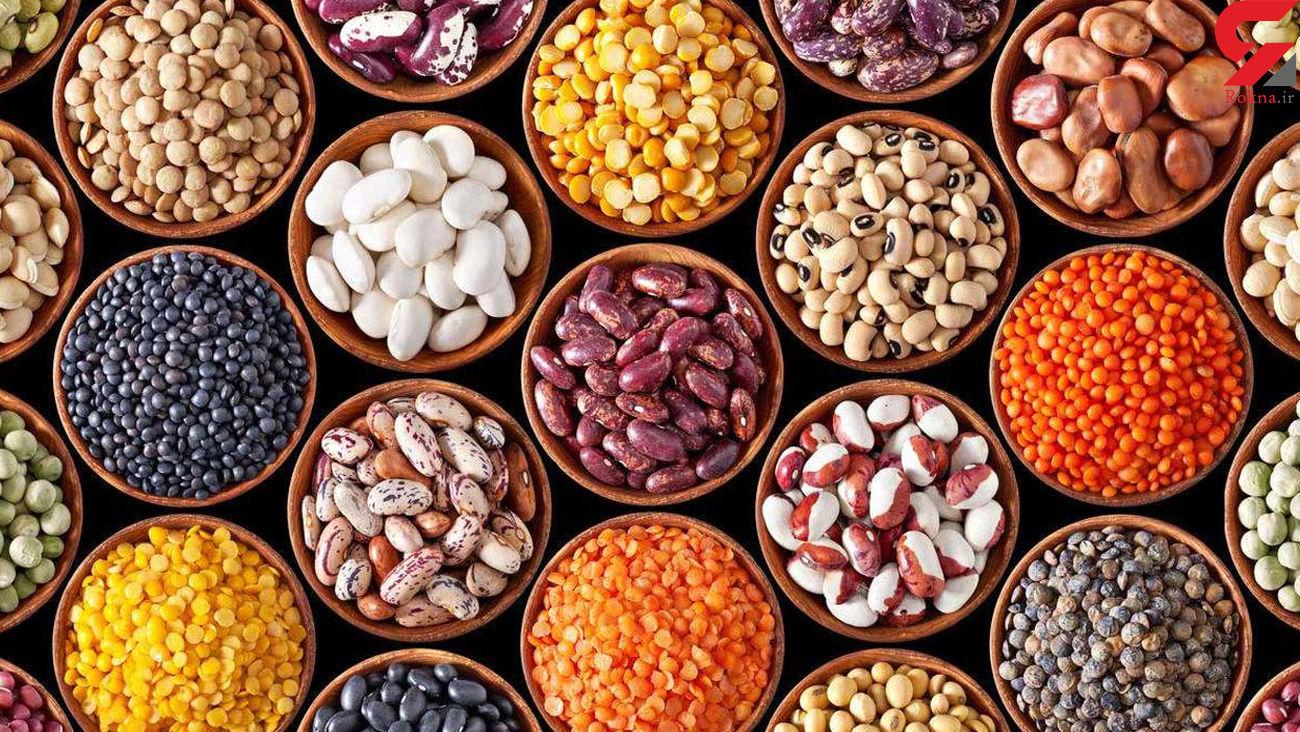 قیمت حبوبات در بازار امروز دوشنبه 17 شهریور 99 + جدول