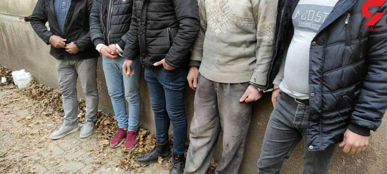 دستگیری عوامل حفاری غیرمجاز در تبریز