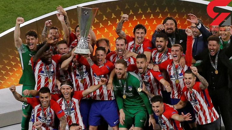 اتلتیکو مادرید قهرمان لیگ اروپا شد