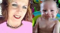 مرگ دردناک کودک بانمک توسط مادر افیونی اش / در ماشین چه گذشت؟  +عکس / امریکا