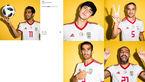 پست ویژه فیفا از فیگور ستاره های ایران +عکس