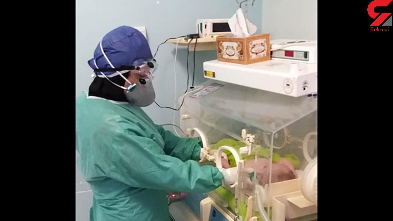 بهبود 2 نوزاد کرونایی در رشت