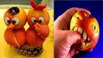 خلق آثار هنری با میوه ها+ عکس های جالب