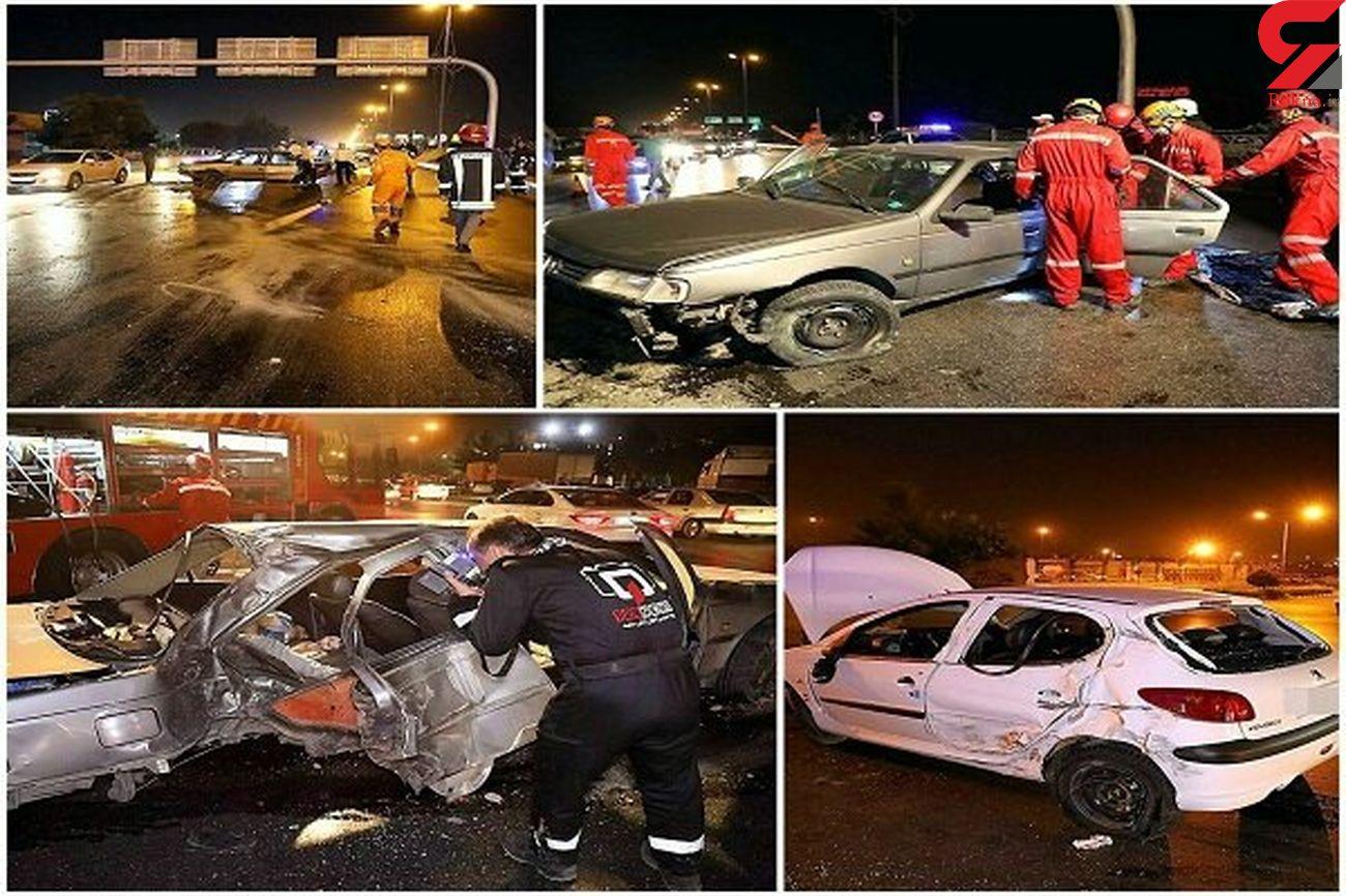 109 ایرانی در جاده های زنجان کشته شدند