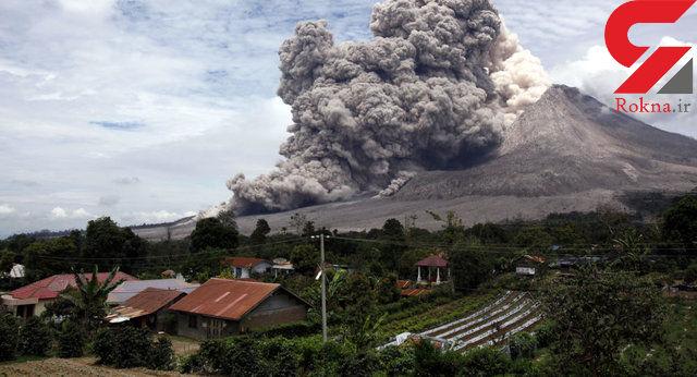 غرش کوه آتشفشان در ژاپن