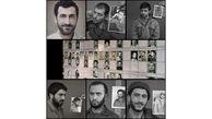 نخستین تصاویر از گریم بازیگران سریال «شهیدان باکری»