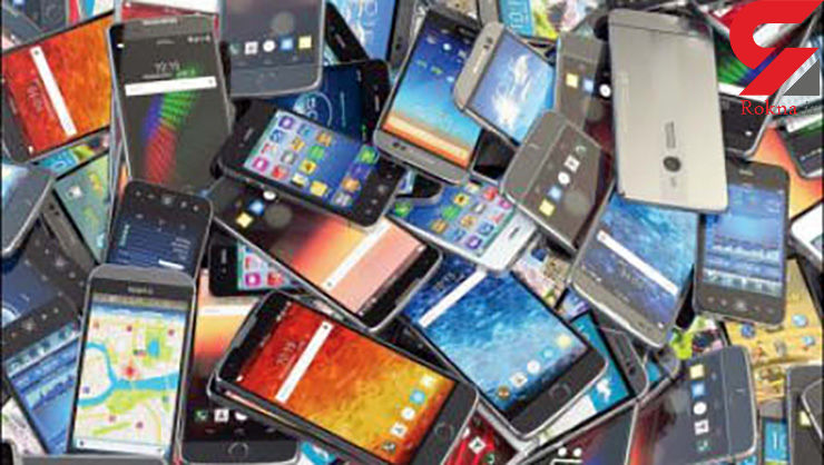 فروش کیلویی گوشی های سرقتی!
