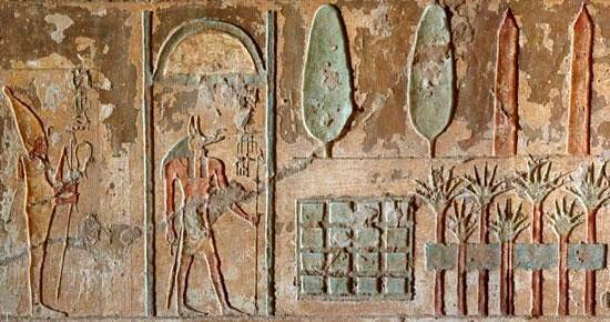کشف باغی تدفین شده در مصر