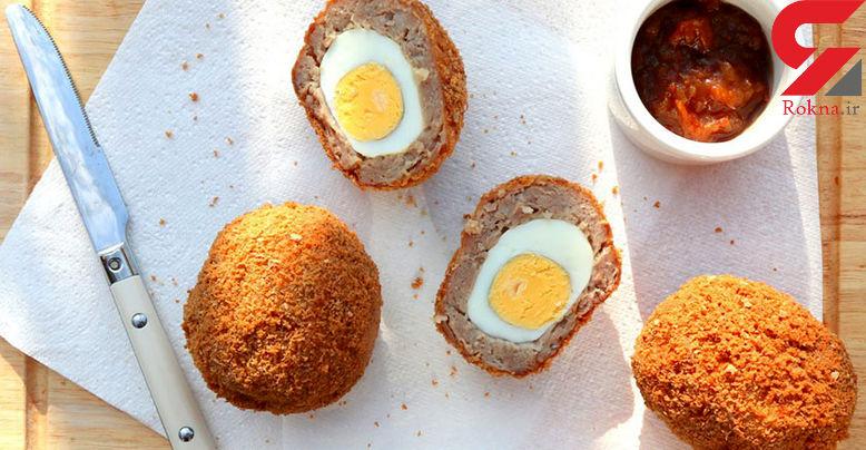 تخم مرغ سوخاری بدون گلوتن صبحانه بیماران سلیاکی + طرز تهیه