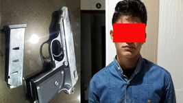 دستگیری زورگیر مسلح که در کمین مسافران نوروزی در آبادان بود+عکس