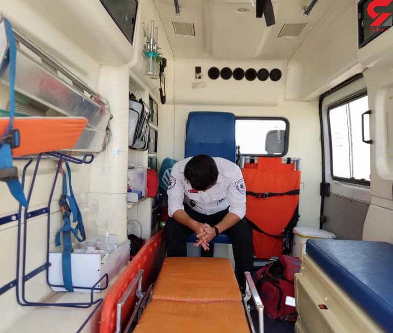 ضرب و شتم کارشناس اورژانس ۱۱۵ نیشابور در حین خدماترسانی