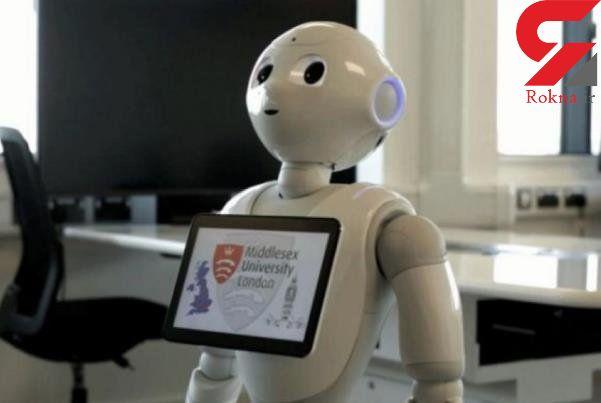 حضور ربات ها در پارلمان انگلیس