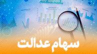 ارزش سهام عدالت امروز چهارشنبه 8 بهمن ماه 99