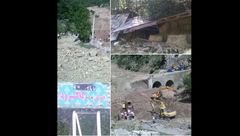 عکس / جسد یکی از مفقودان سیل کاکرود پیدا شد + عکس