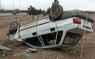 2 واژگونی خودرو در همدان / ظهر امروز رخ داد