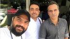 شهرام شکوهی از بیمارستان مرخص شد + عکس
