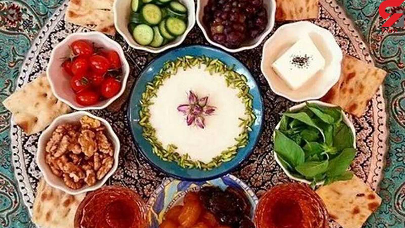سفره افطار ماه رمضان 1400 چقدر تمام می شود ؟ + اینفوگرافیک