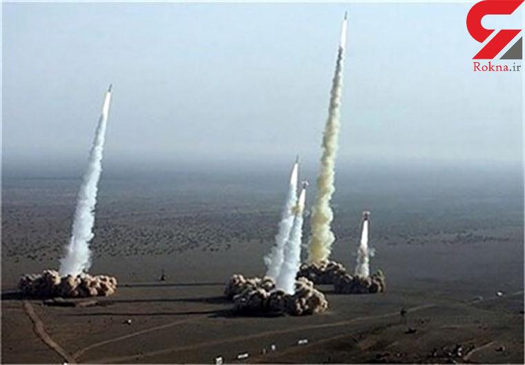عکس قبل و بعد از حمله موشکی سپاه به پایگاه آمریکایی عین الاسد