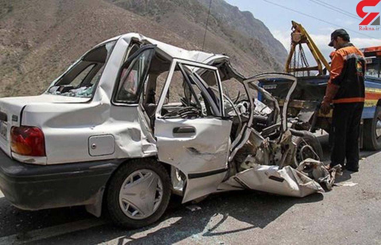 6 زن و مرد و کودک در اصفهان لت و پار شدند