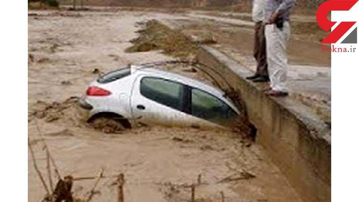 مرگ ناگهانی راننده پژو 206 در رودخانه خروشان لارستان