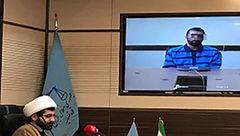 محاکمه ویدئو کنفرانسى یک متهم در سمنان برگزار شد