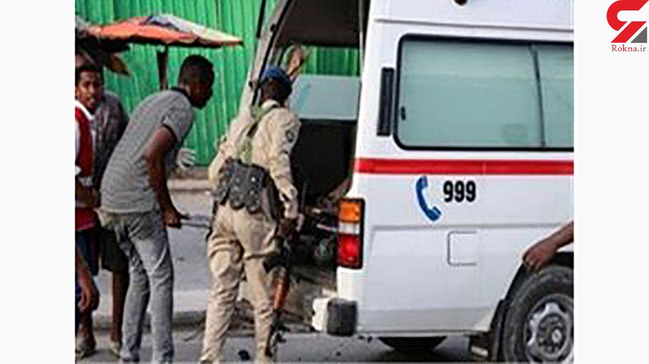 مرگ 6 پلیس با انفجار انتحاری / هدف رییس پلیس بود / سومالی