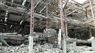 ریزش آوار ساختمان قدیمی بر سر 4 کارگر در تهران + عکس