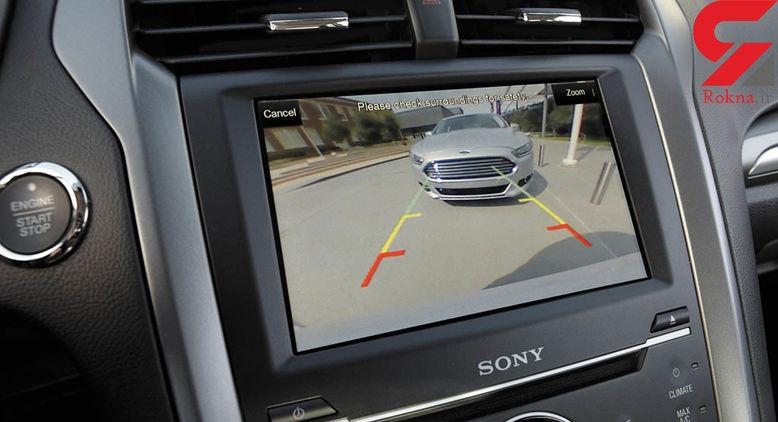 نصب دوربین دنده عقب در خودروها قانون شد!