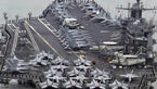 ناو هواپیمابر هسته ای آمریکا وارد آبهای کره جنوبی شد