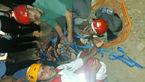 نجات فرد گرفتارشده در ارتفاعات کوه های زیاران + عکس