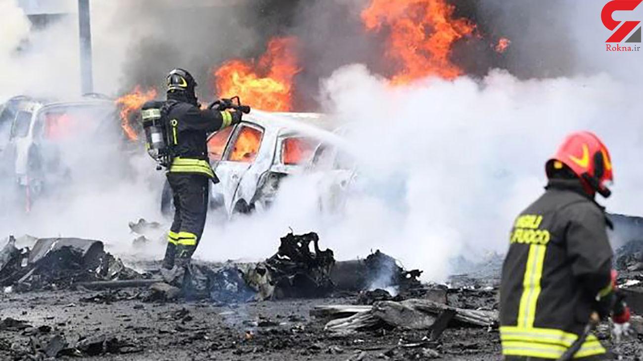 مرگ دردناک مرد میلیاردر و خانواده اش در سقوط هواپیما
