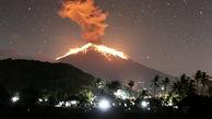 """فوران کوه آتشفشانی """"آگونگ"""" اندونزی"""