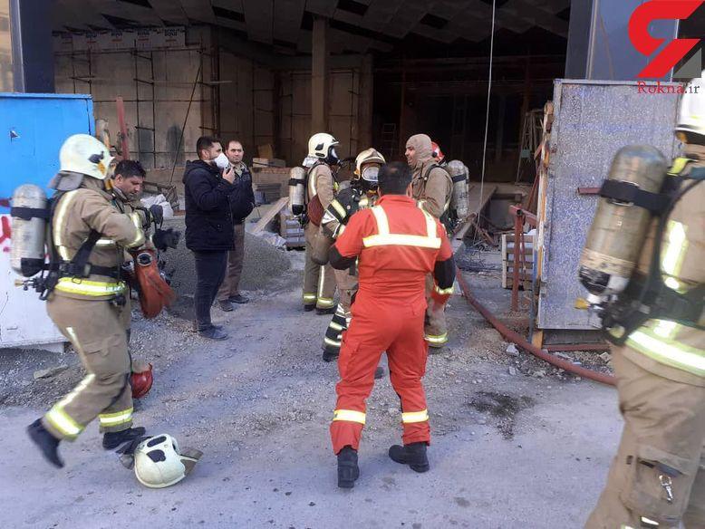 آتش گرفتن خودرو در خرمشهر / 2 بامداد رخ داد
